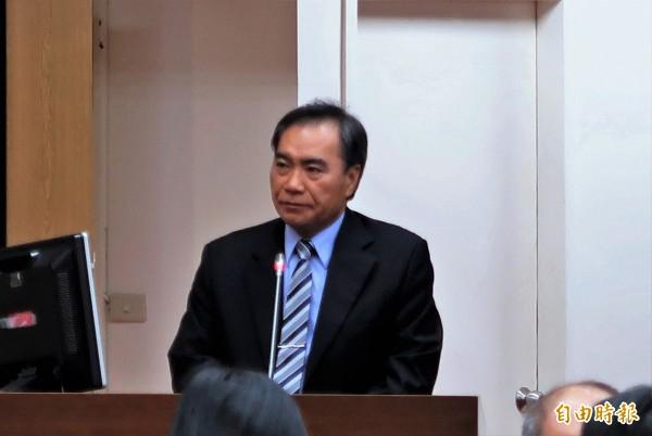 台酒公司董事長吳容輝表示,今年雙十國慶日,台酒推出許多行銷創意活動。(資料照,記者王孟倫攝)