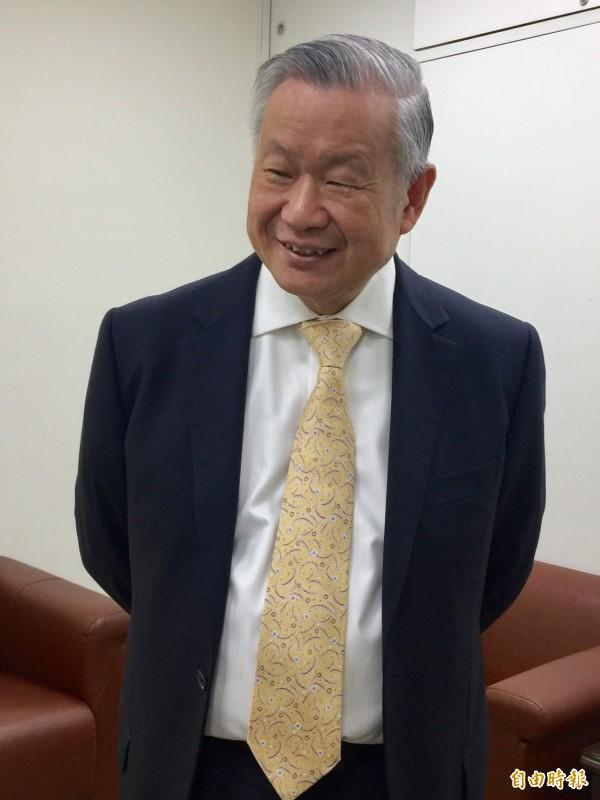 旺宏董事長吳敏求。(記者洪友芳攝)