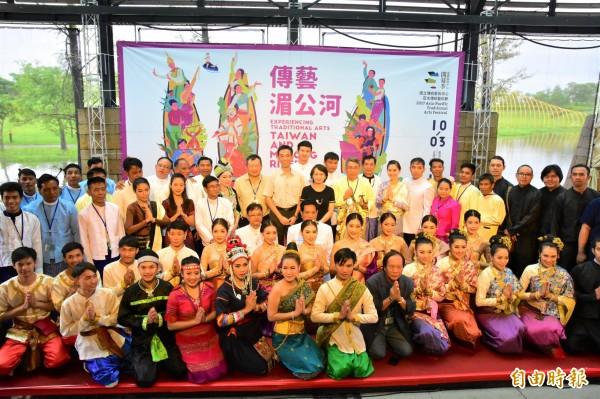 2017亞太傳統藝術節今起在宜蘭國立傳統藝術中心登場,第二波演出由泰國、寮國、緬甸帶來精采演出。(記者張議晨攝)
