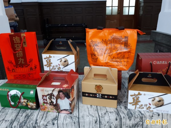 新竹市米粉摃丸節週六登場,現場將有在地業者展售商品。(記者洪美秀攝)