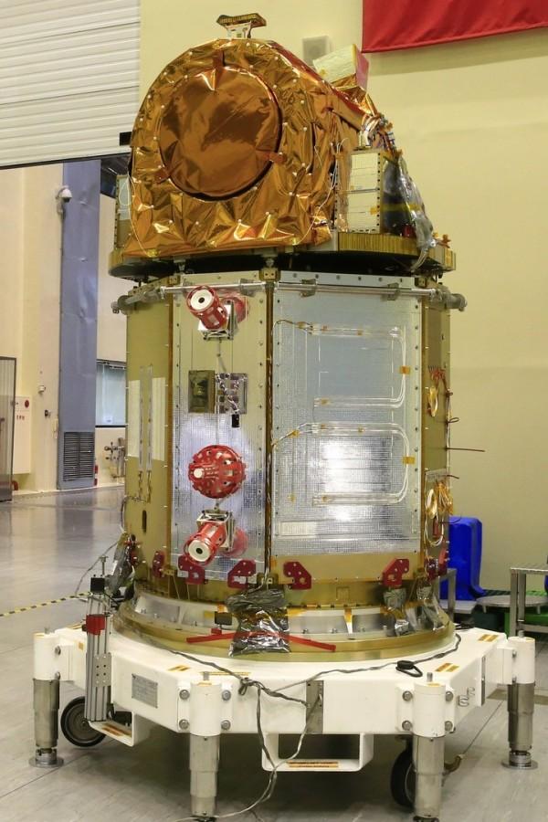 太空中心指出,透過溫控與運算還原的方式,福五的影像品質已有改善,但仍與預期有一段差距。(太空中心提供)
