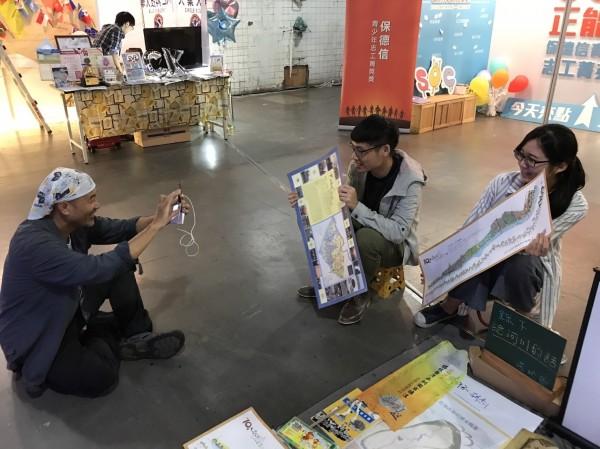 《台江河川小教室》鼓勵青年學生、直播錄下給家鄉河川的話,一起為守護台灣河川發聲。(記者邱灝唐翻攝)
