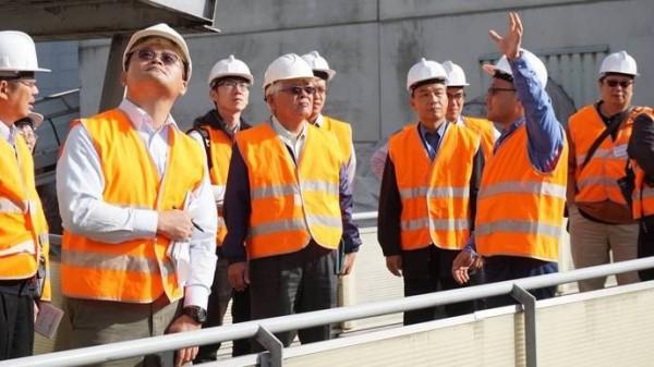 雲林縣長李進勇希望「MBT機械生物處理系統」能在2年左右實現。(雲林縣政府提供)