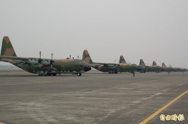 439聯隊負責軍機維修、運補等勤務,攸關飛安,卻爆發女士官帶頭簽睹牟利重大違紀案。(記者李立法攝)