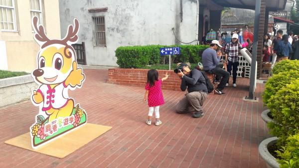 鹿港鎮公所吉祥物「小祿鹿」,有女友了!(記者劉曉欣翻攝)