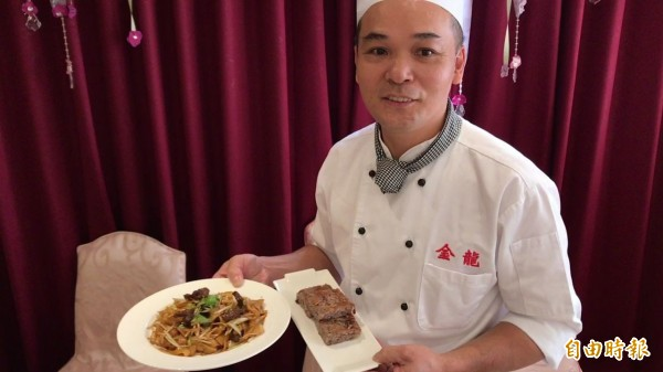 高雄在地食材也能入港式飲茶好吃的菜色。(記者黃良傑攝)