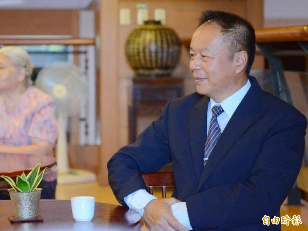 鄭楊慶罹患舌癌、肝炎後改變人生。(記者黃旭磊攝)
