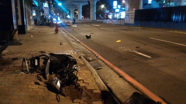 發生死亡車禍的路口。(記者許國楨翻攝)