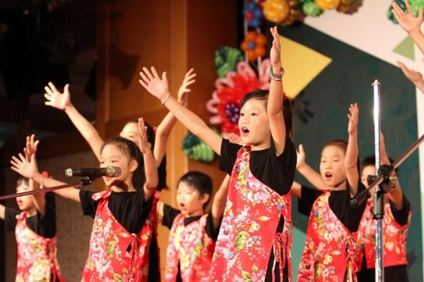 教育部今天在新竹市辦理表揚大會。(照片由新竹市府提供)