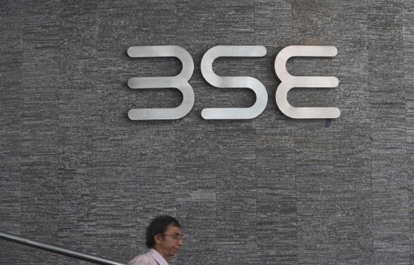經濟合作發展組織(OECD)發布報告指出,新興亞洲國家今年的經濟仍將維持穩健成長,但之後將會放緩,因中國未來5年的擴張減速。圖為孟買交易所(BSE)的標誌。(法新社)