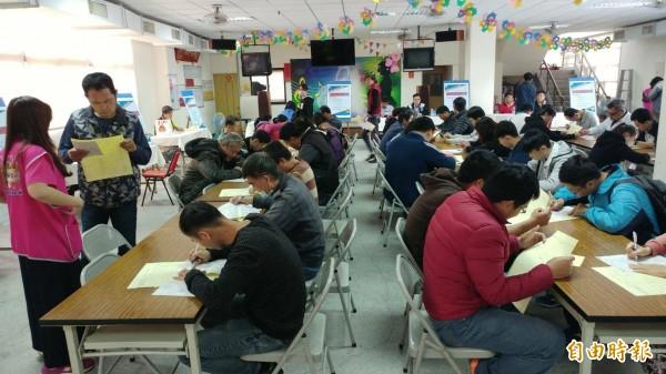 勞動部台南就業中心在本週連辦兩場徵才活動。(資料照,記者王俊忠翻攝)