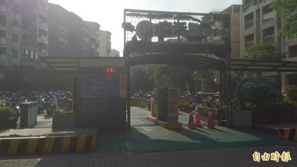 「廣E1」公有地已闢為機車停車場,這次通盤檢討配合現況及管用合一,變更為停車場用地。(記者洪瑞琴攝)