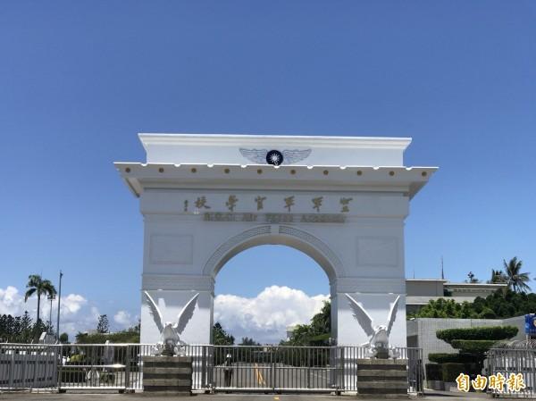 高雄岡山空軍官校男女廁所整建,惹出女師爭女廁空間遭批「破壞團結」非議。(記者蘇福男攝)
