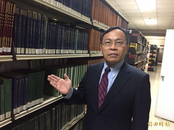 台灣銀行董事長呂桔誠表示,台銀與德意志銀行雙方合作是長期性的。(記者盧冠誠攝)