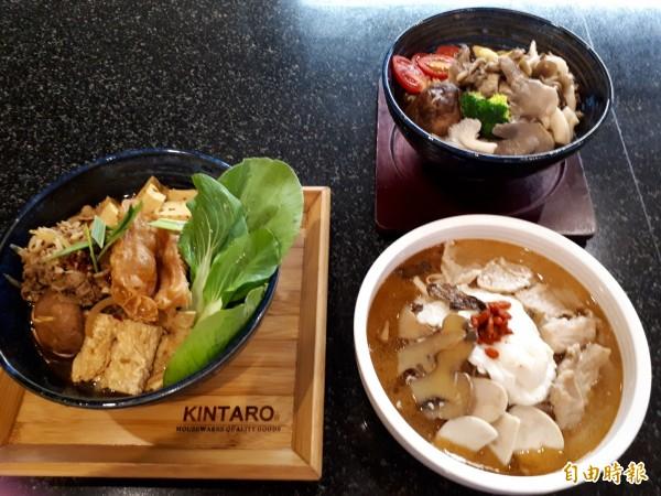 新竹市「禮面作」麵食館推出各種麵食,有冬季限定及平價麵食套餐。(記者洪美秀攝)