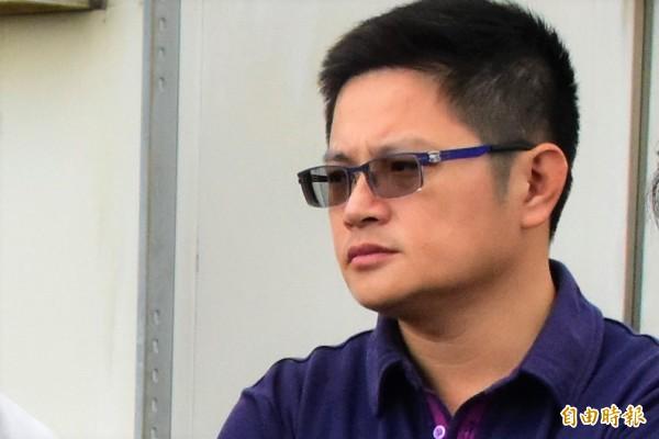 宜蘭縣議員邱嘉進,今宣布退出羅東鎮長初選。(記者張議晨攝)