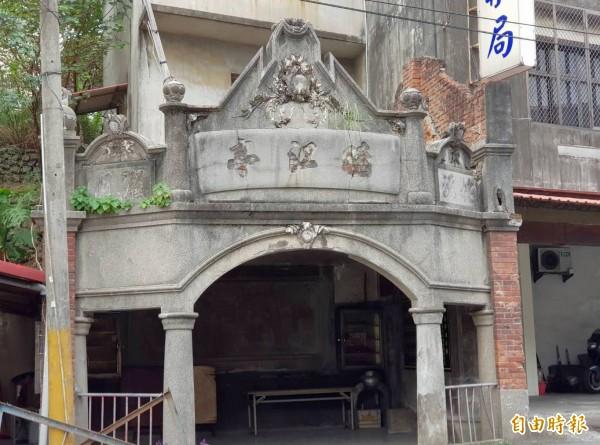 新竹縣竹東鎮的曉江亭在今年5月獲指定為縣定古蹟。(記者蔡孟尚攝)