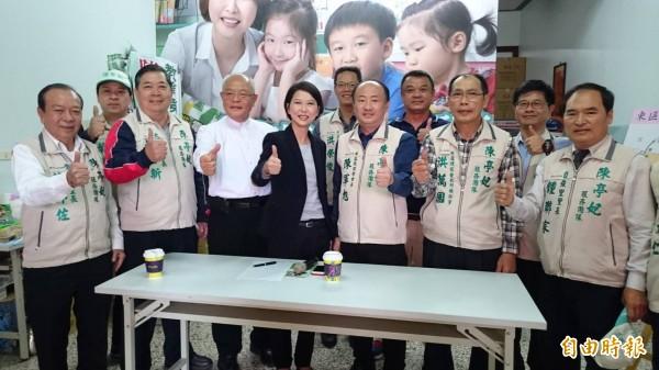南市長參選人陳亭妃將於本週日(十日)成立東區後援會、訴求三大發展願景。(記者王俊忠攝)