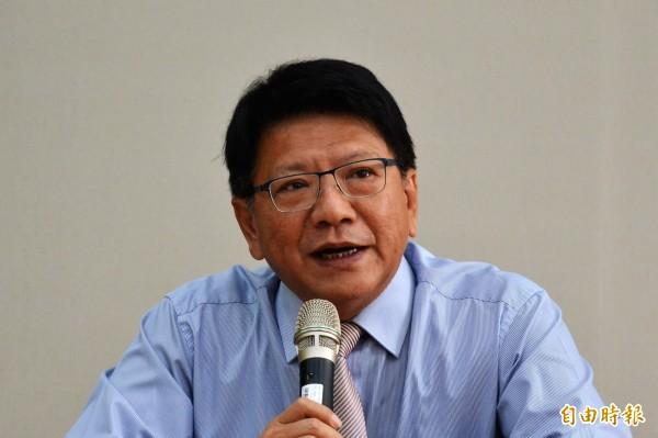 出國參訪的屏東縣長潘孟安關切民眾遭炸傷事件。(資料照,記者侯承旭攝)