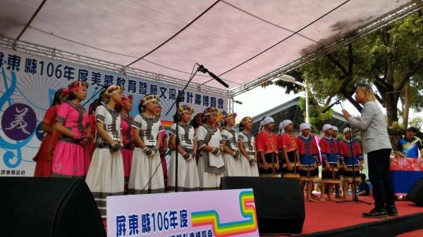 屏東牡丹國中合唱團將代表屏東縣進軍全國學生音樂賽。(記者蔡宗憲翻攝)