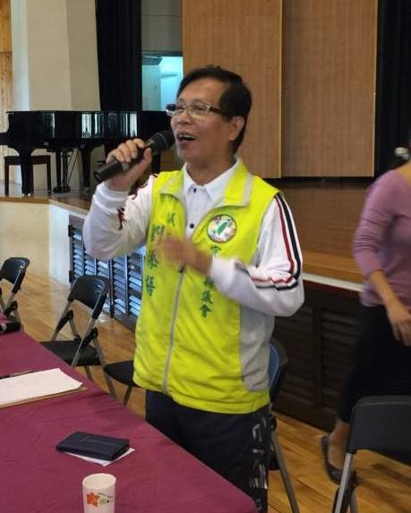 劉添梧宣布退出民進黨羅東鎮長黨內初選。(圖擷取自劉添梧臉書)