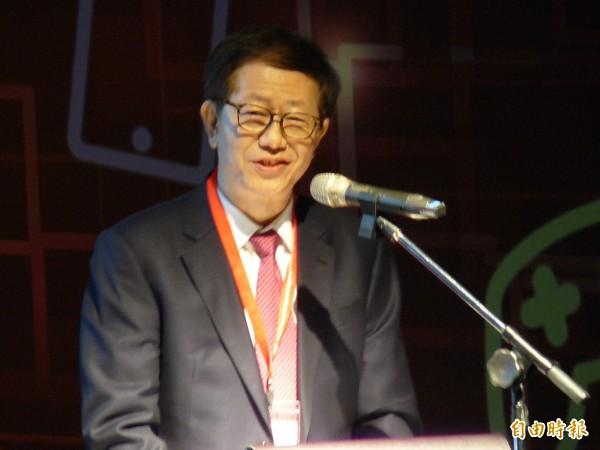 台積電共同執行長劉德音。(記者洪友芳攝)