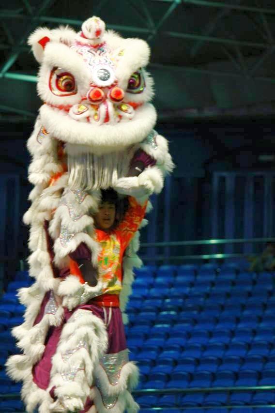 高市盛祥門龍獅戰鼓團曾奪下香港亞太區獅王冠軍。(盛祥門提供)