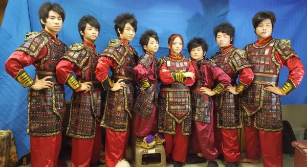 高市盛祥門龍獅戰鼓團聞名國際,曾奪下香港亞太區獅王冠軍。(記者陳文嬋翻攝)