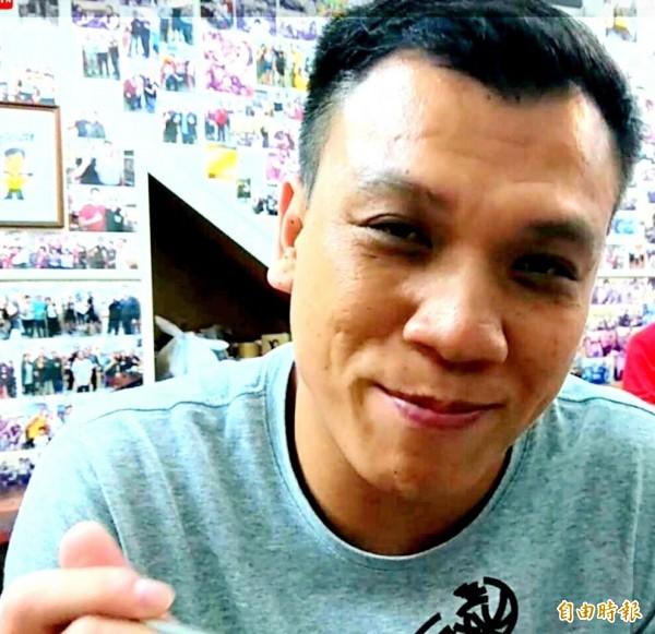 廖楚翔是炒飯達人,他形容XO醬炒飯「很有衝突感」。(記者洪定宏攝)