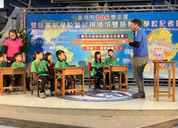 台南市政府如火如荼進行第二官方語言推動。(台南市教育產業工會提供)