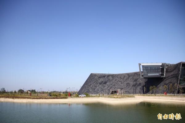 故宮南院西側將設置「國寶文物修復展示館」。(記者林宜樟攝)