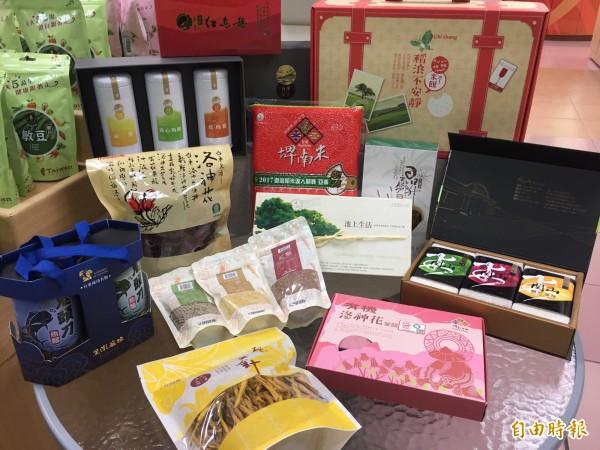 台東縣農漁會產品種類多,品質佳。(記者張存薇攝)