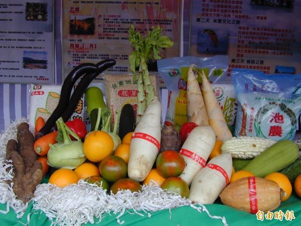 台東縣生鮮蔬果種類多,農業處招商將設低溫物流中心。(記者張存薇攝)