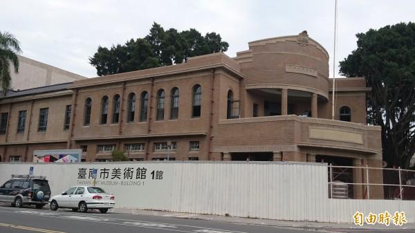 台南美術館1館預於8、9月有美國展預展。(記者洪瑞琴攝)