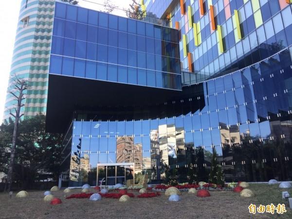 工研院的創新園區第一期日前落成啟用。(記者洪友芳攝)