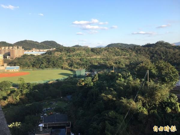 大武崙森林運動公園規劃多元的運動休憩空間,6月將完成規劃案。(記者林欣漢攝)