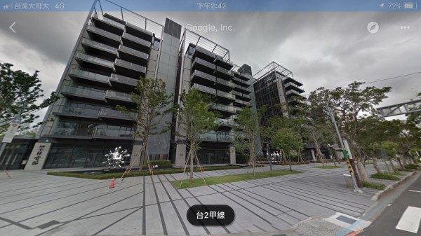 去年10月,位處北市士林區士林官邸旁的商用建案「欣翰士林官邸」揭露一筆總價2億450萬元的5樓實價資訊,買家為在中國漳州設廠的台商。(翻攝至Google地圖)