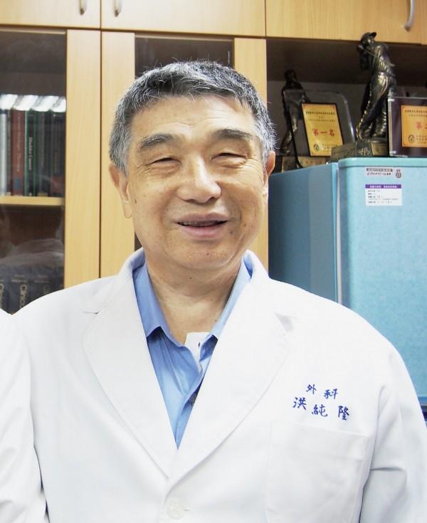 高醫大附設醫院前院長洪純隆教授,今上午5時病逝,享壽75歲。(高醫大董事會提供)