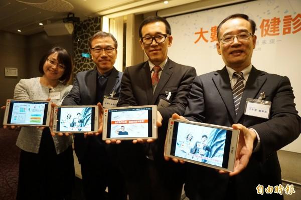 健檢中心引進韓國生理年齡分析系統,分析國人健康狀況。(記者蔡淑媛攝)