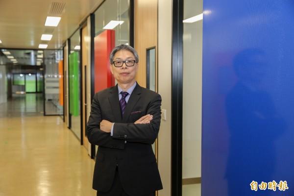 崇佑-KY董事長楊明洲。(記者張慧雯攝)