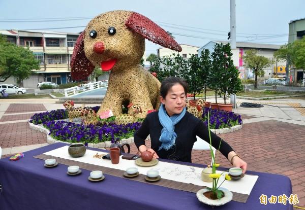 大年初五歸仁文化中心將舉辦 薰風茶席音樂會,邀請鄉親品茗。(記者吳俊鋒攝)