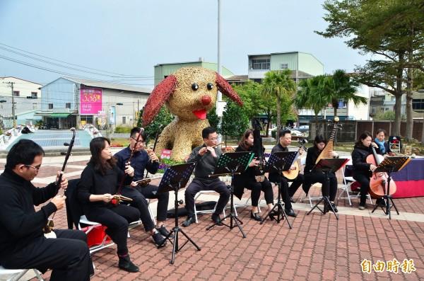 台南市民族管弦樂團將於大年初五演出。(記者吳俊鋒攝)
