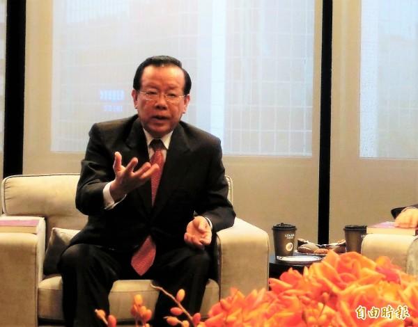 前財政部長顏慶章強調,若公股行庫遵守「5P原則」授信,怎會出現獵雷艦案?總要有人對此負責!(記者王孟倫攝)