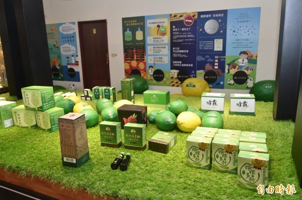 以細胞雙破壁技術及無糖發酵技術見長的健茂生物科技公司,近年來布局全球市場有成,目前已研發出近40多種商品。 (記者張忠義攝)