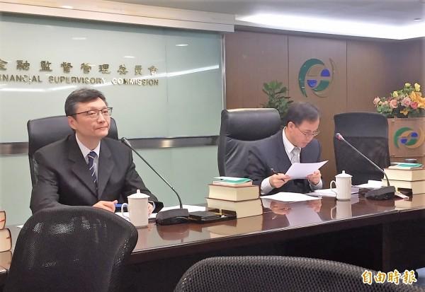 金管會宣布,核准台中商銀第一家海外分行,設置於馬來西亞。圖為銀行局副局長王立群(記者王孟倫攝)