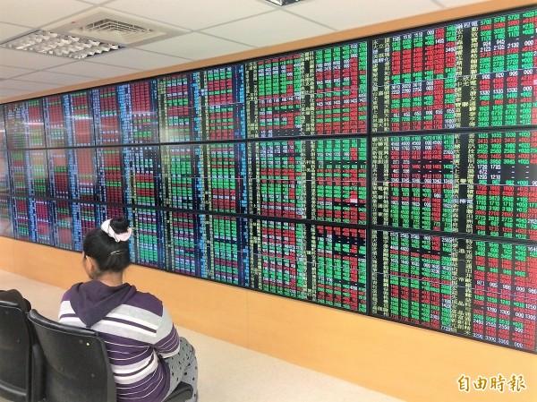 根據金管會統計,MSCI這次對台股調降權重,僅影響0.38億美元外資資金。(記者王孟倫攝)