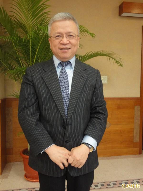 中央銀行首席副總裁嚴宗大。(記者盧冠誠攝)