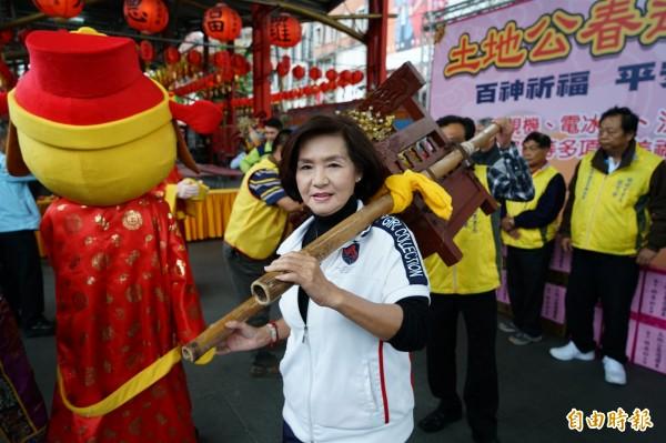 羅東中山公園福德廟訂於10日舉辦土地公春遊。(記者江志雄攝)
