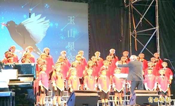 「2018玉山星空音樂會」活動中,台灣原聲童聲合唱團將透過音樂演唱,讓大家記住導演齊柏林對台灣的貢獻。(資料照)
