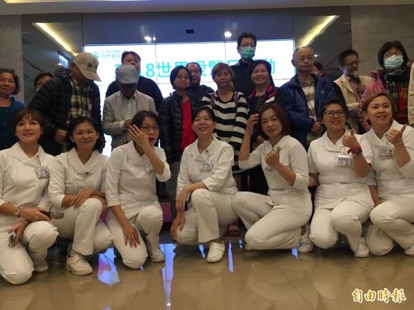 員基醫院舉行腎臟健康講座。(記者顏宏駿攝)